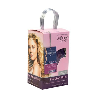 Curlformers by Hairflair corkscrew curl glam up kit