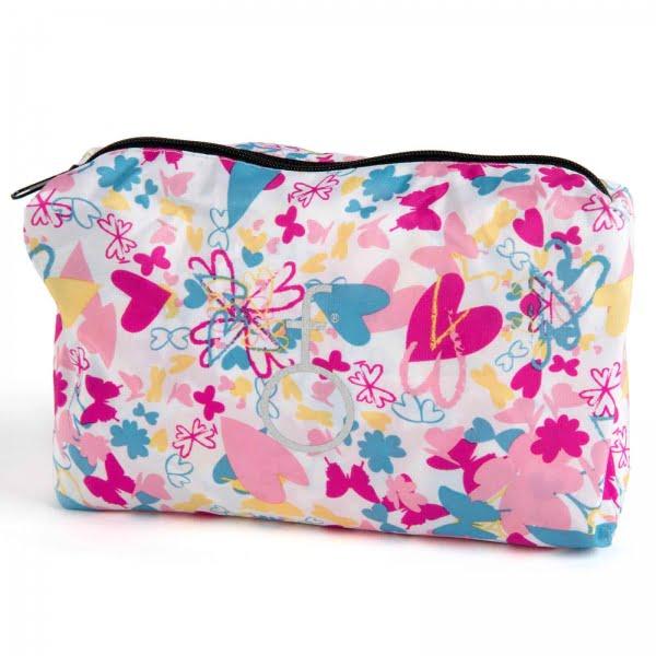 HairFlair Bolsa de almacenamiento de corazones y mariposas de Softhood