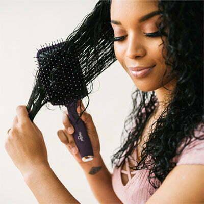 comb through