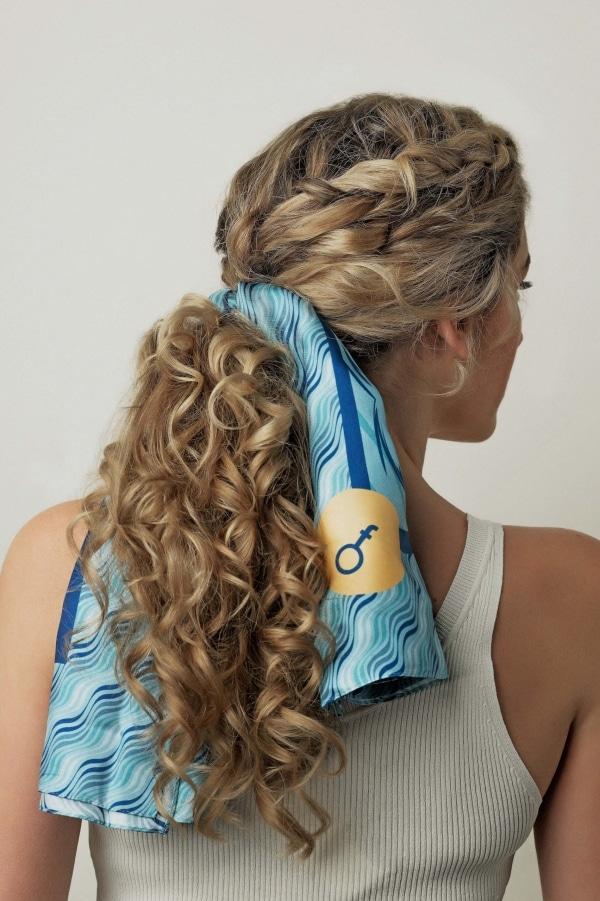 Curlformers Summer Flair Silk Scarf