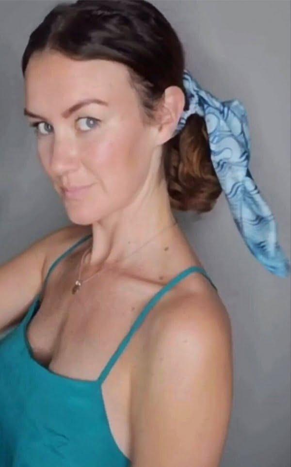 Summer Flair Silk Scarf