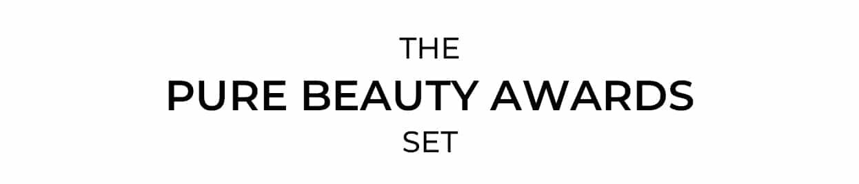 Conjunto de premios de belleza pura