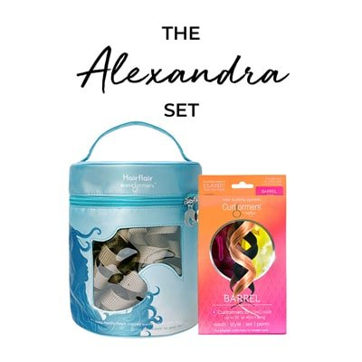 The Alexandra Set - Beach Flair Styling Kit and Barrel Top Up Pack