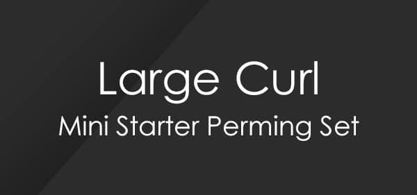 Set de permanente para principiantes Large Curl Mini