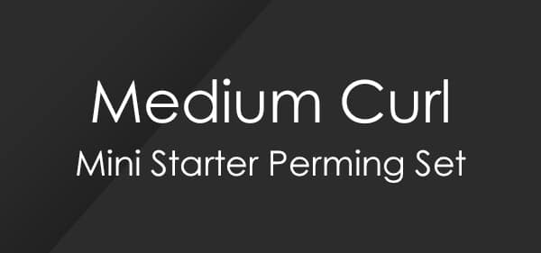 Set de permanente para principiantes Medium Curl Mini