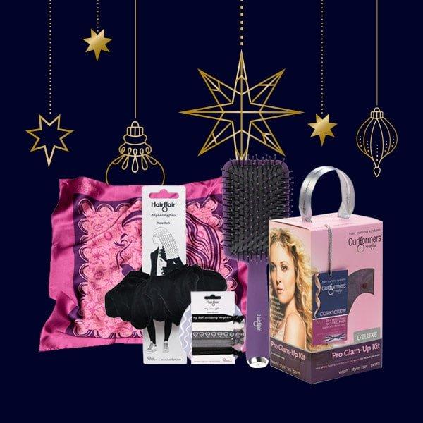 El set de regalo Finishing Look con kit de glamour de sacacorchos GRATIS