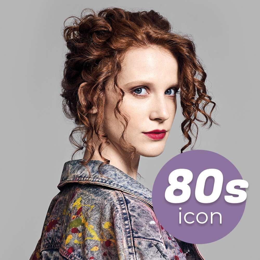 Imagen retro de los 80