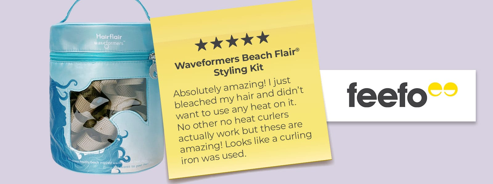 Waveformers Beach Flair Kit de peinado